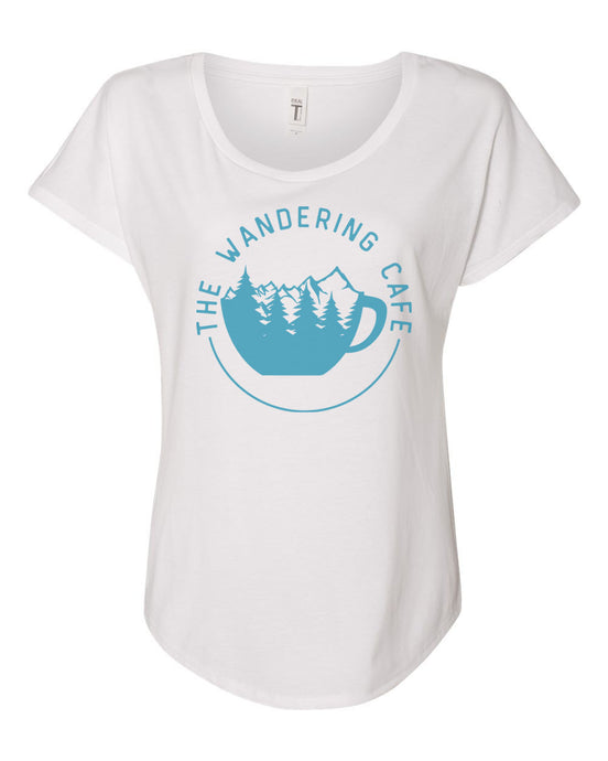 The Wandering Cafe Dolman Tee