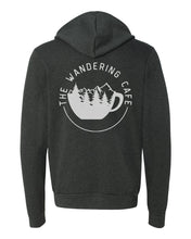 Load image into Gallery viewer, The Wandering Cafe Zip Hoodie