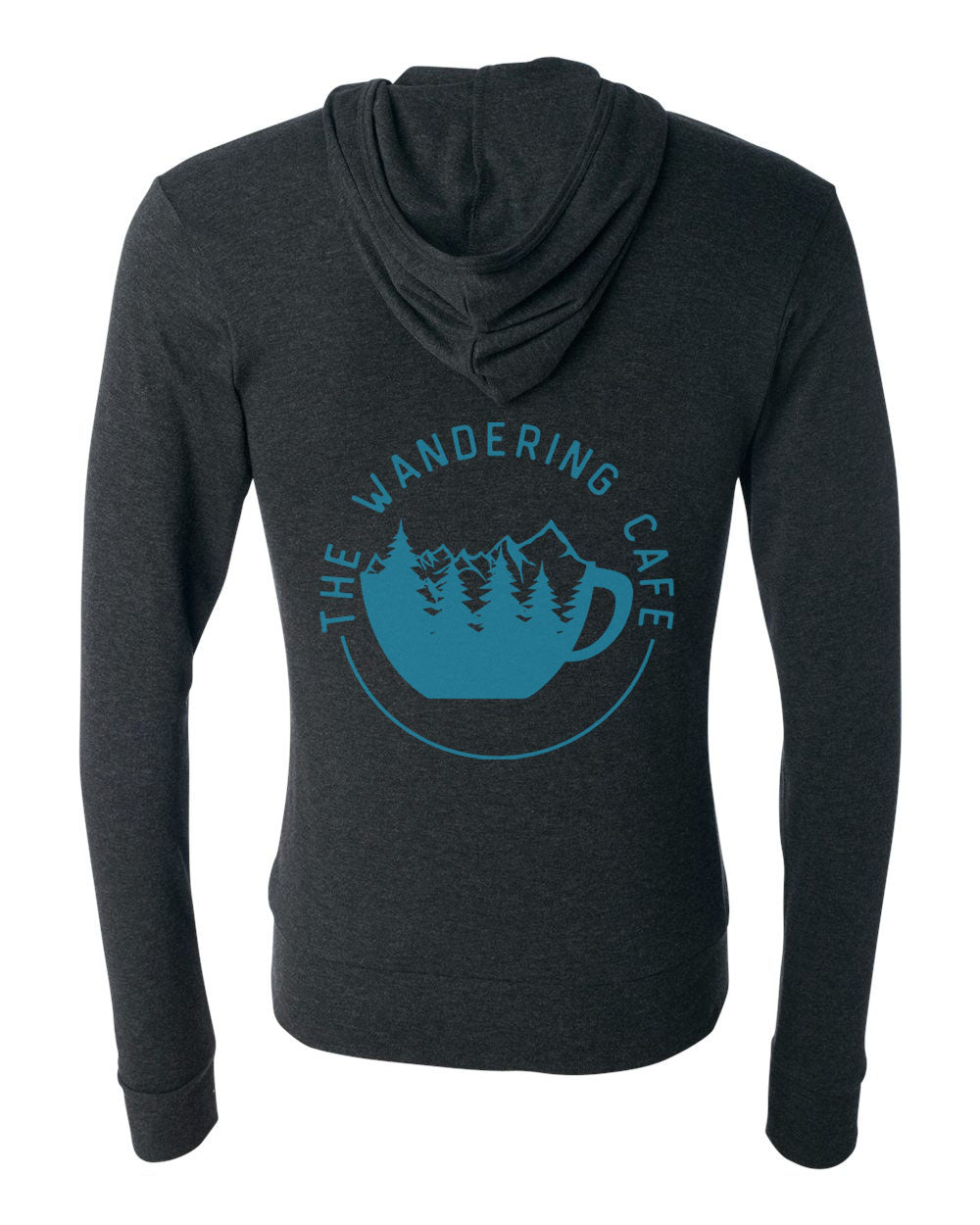 The Wandering Cafe Lightweight Zip Hoodie