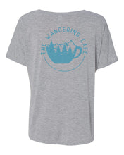 Load image into Gallery viewer, The Wandering Cafe V-Neck Shirt