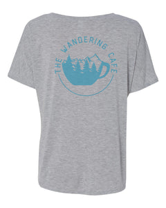 The Wandering Cafe V-Neck Shirt