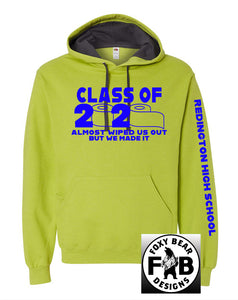 CLASS OF 2020- WIPED OUT HOODIE