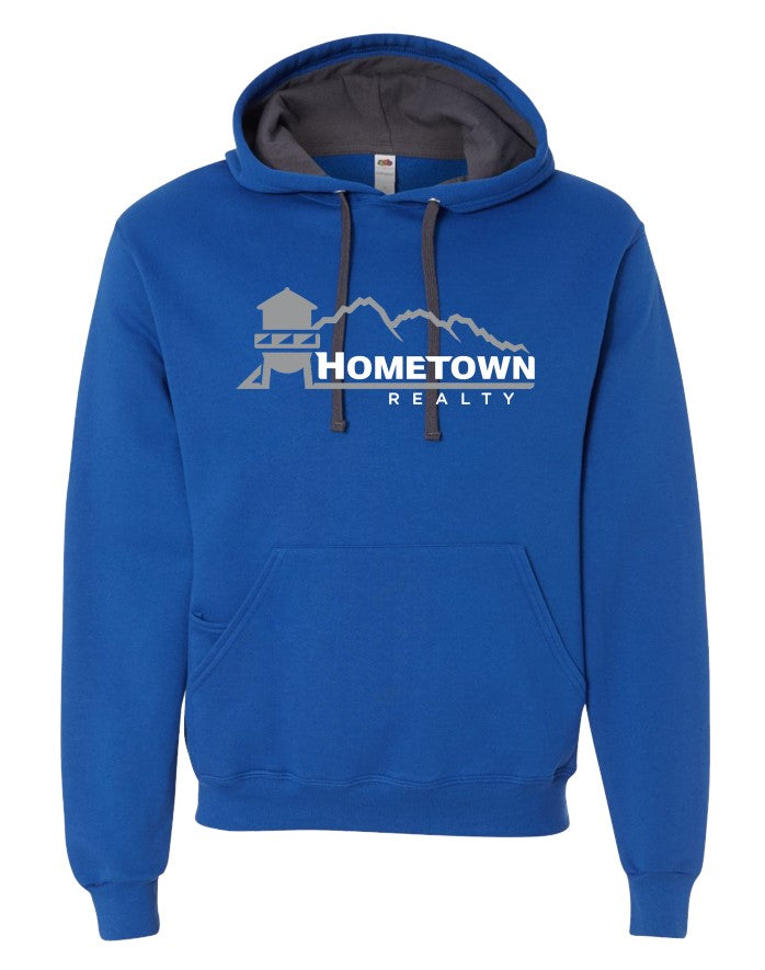 HOMETOWN REALTY ROYAL HOODIE