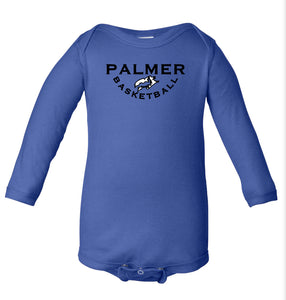 PHS BASKETBALL LONG SLEEVE ONESIE