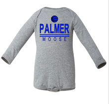 Load image into Gallery viewer, PHS BASKETBALL LONG SLEEVE ONESIE