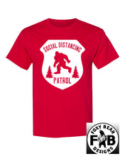 Load image into Gallery viewer, SOCIAL DISTANCING PATROL T-SHIRT