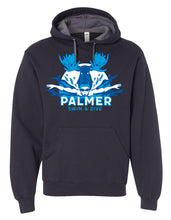Load image into Gallery viewer, PHS SWIM HOODIE WITH COLOR LOGO
