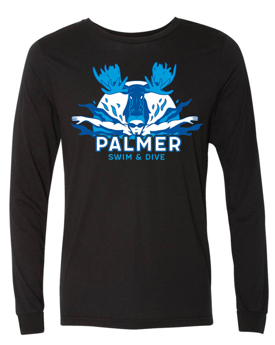 PHS SWIM LONG SLEEVE WITH COLOR LOGO