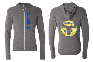 PHS Softball Lightweight Zip Hoodie