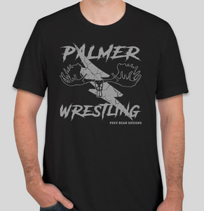 PALMER WRESTLING FAN GEAR T-SHIRT