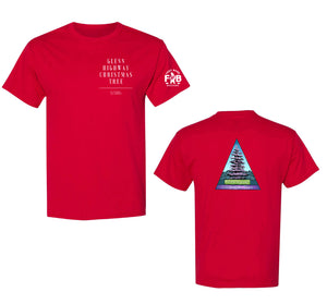 GLENN HIGHWAY CHRISTMAS TREE T-SHIRT