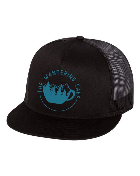 The Wandering Cafe Trucker Hat