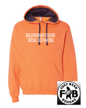 Load image into Gallery viewer, RELATIONSHIP STATUS: SOCIAL DISTANCING HOODIE