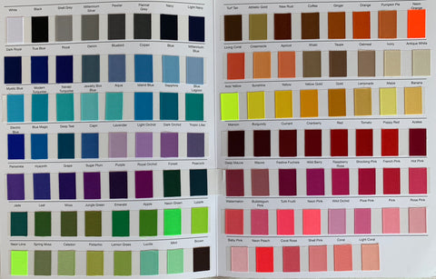Color Chart #1