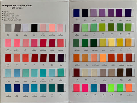 Color Chart #2