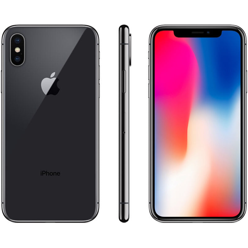 iPhone X- Reconditionné Smartphone 64 256GB ROM