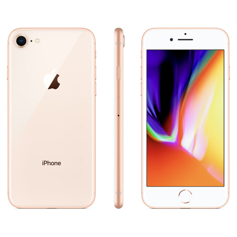 iPhone 8- Reconditionné Smartphone 64 256GB ROM