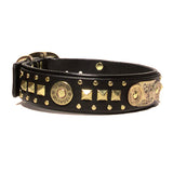 Tulsa Leather Dog Collar, Personalized Collars, Karma Collars, Karma Collars: Custom Leather Dog Collars