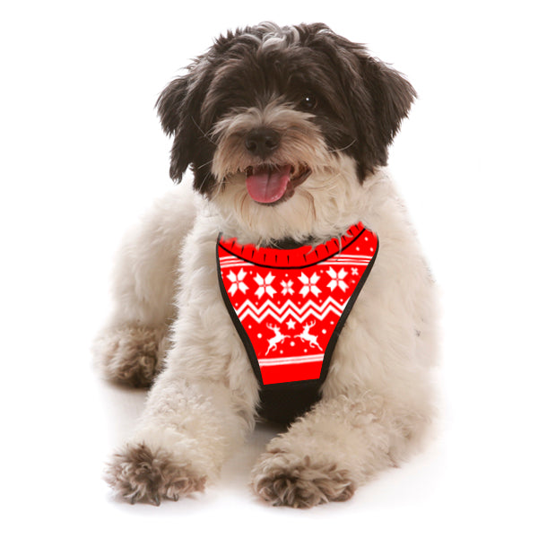 Ugly Christmas Sweater WagSwag Harness Set