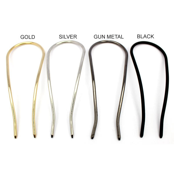 Metallic Hair Fork - Osewaya