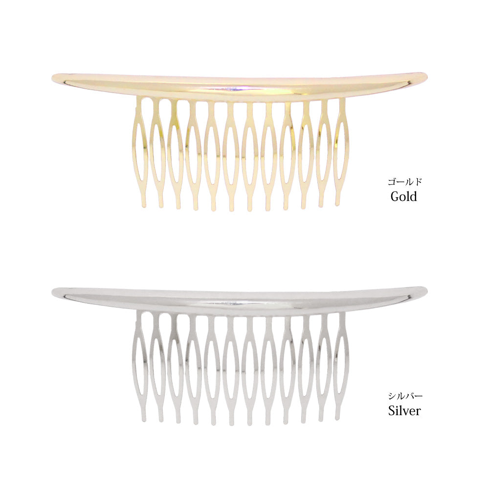 Metallic Hair Comb - Osewaya