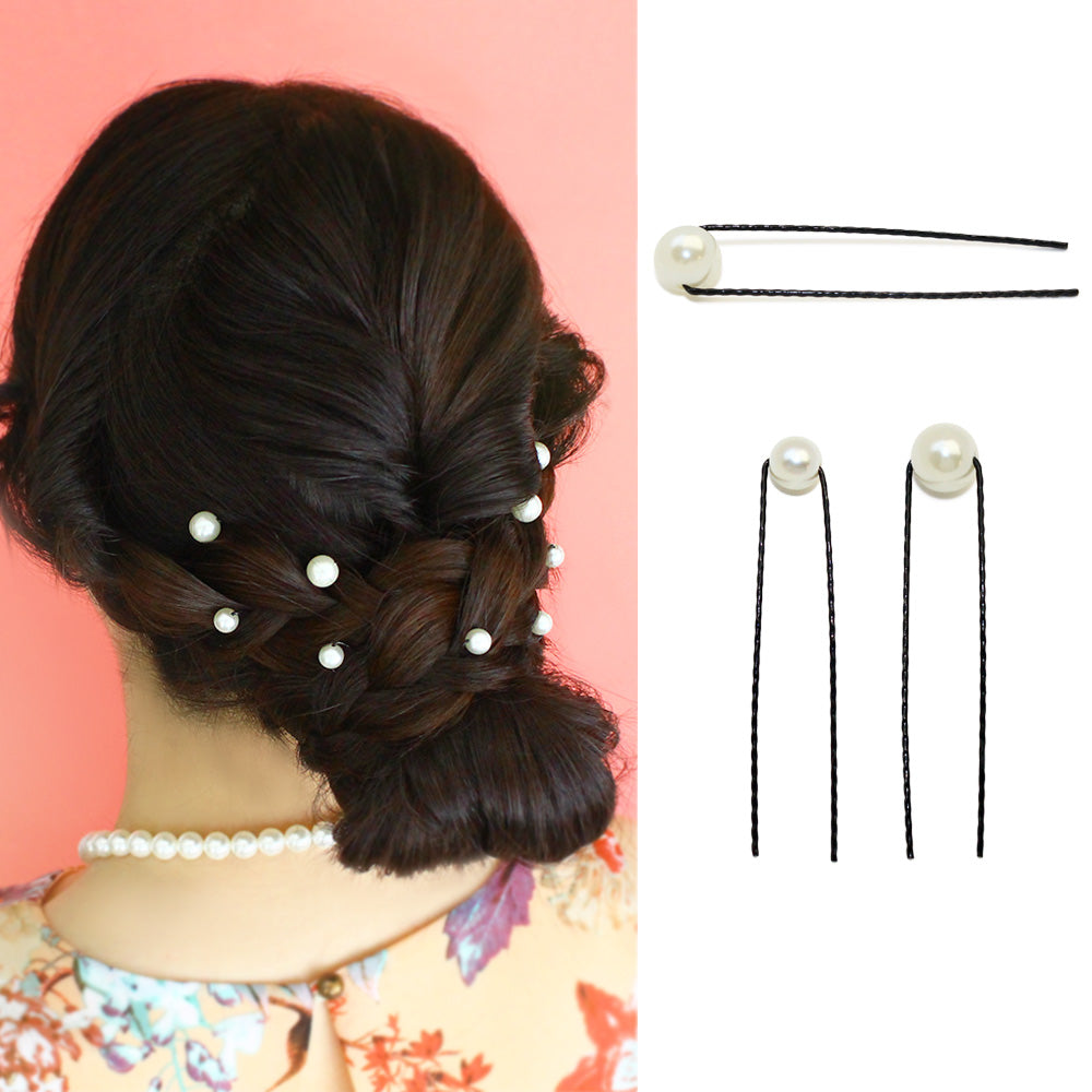 Shine Pearl Hairpin Pack - Osewaya