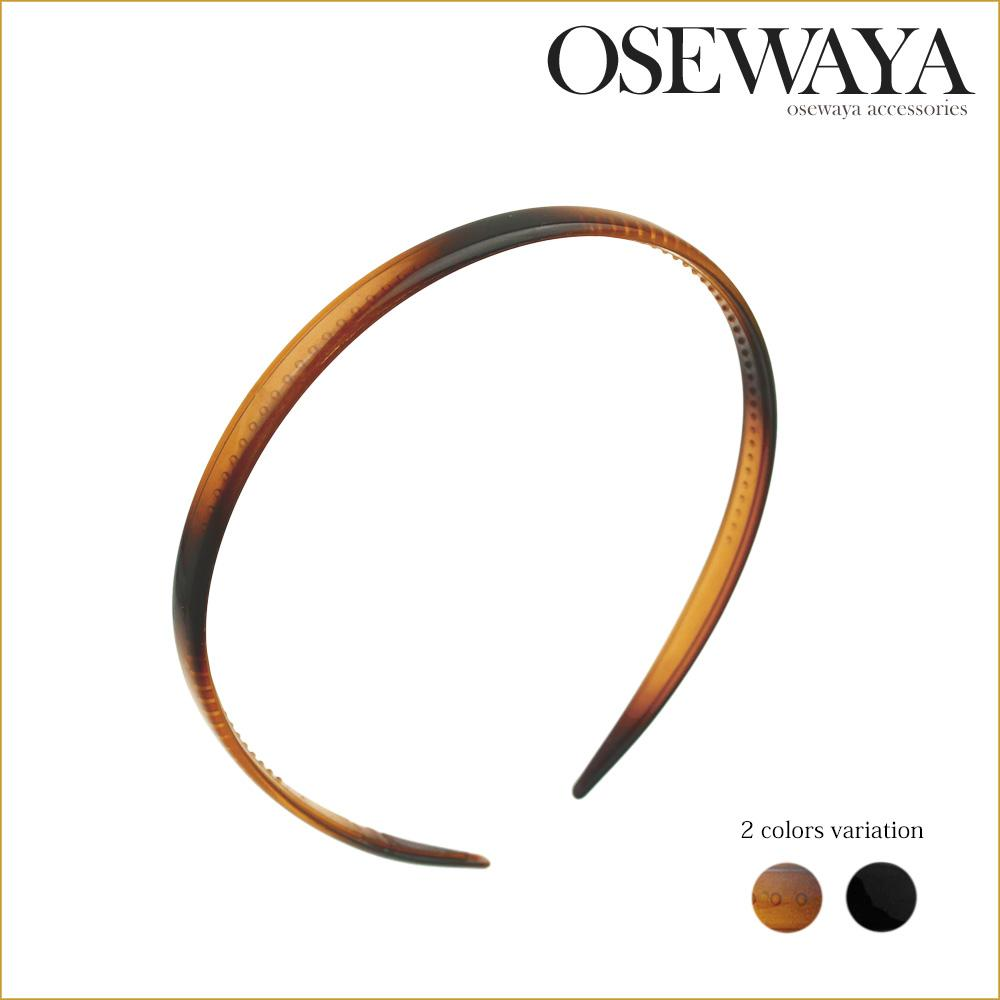 Brown and Black Basic Headband for Women - Osewaya