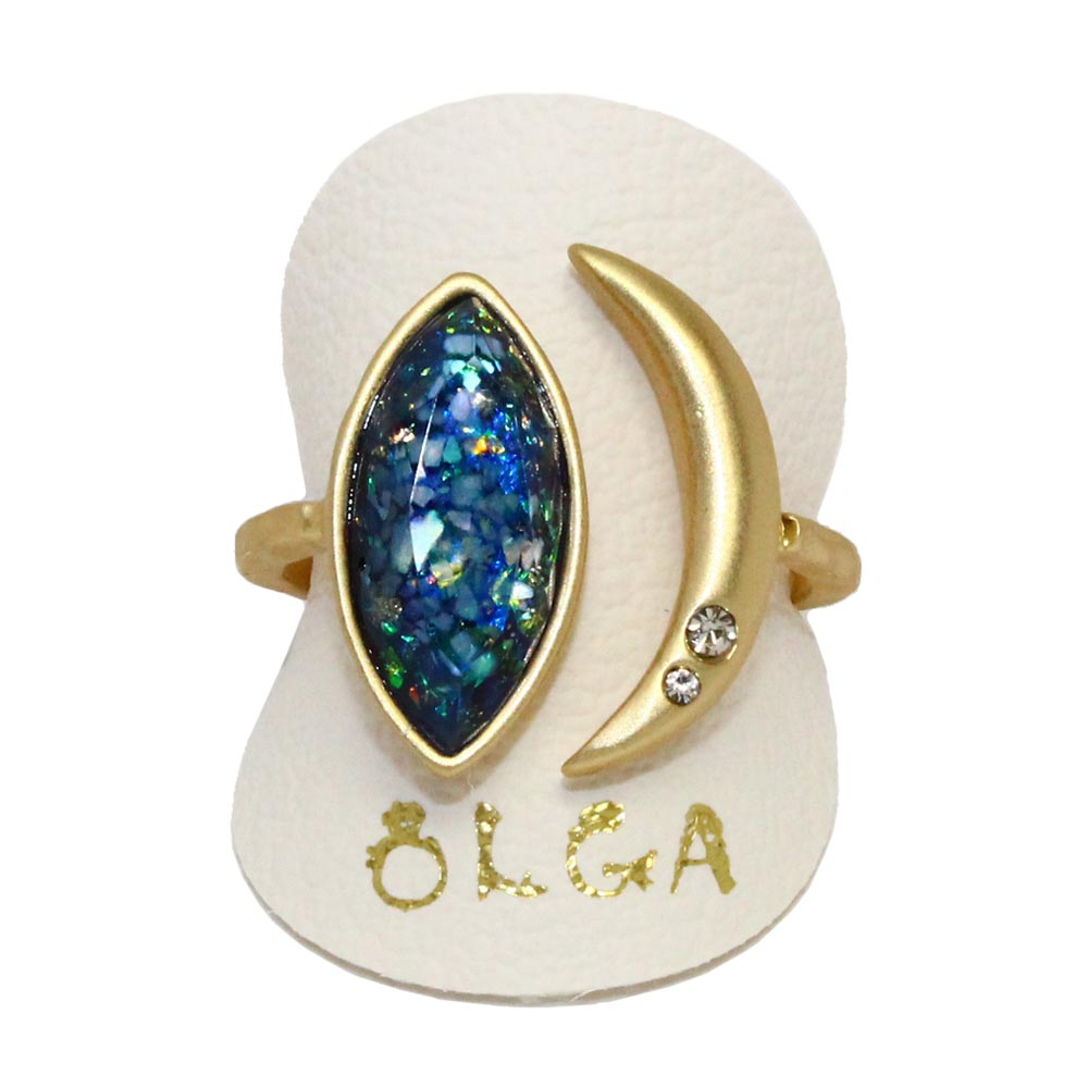 osewaya - Marquis and Moon Ring - Olga - Ring
