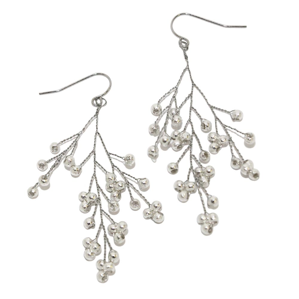Metal Spray Earrings - Osewaya