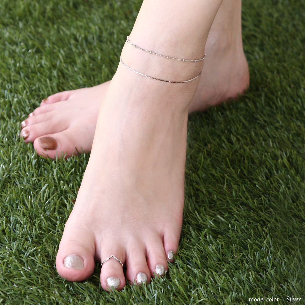 Nickel Free V Open Toe Ring - Osewaya