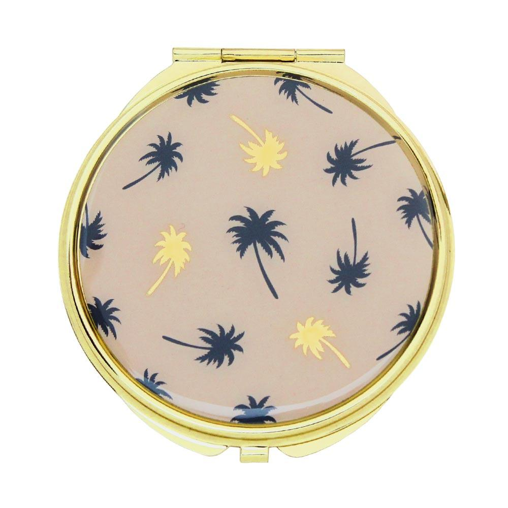 Palm Tree Compact Mirror - Osewaya