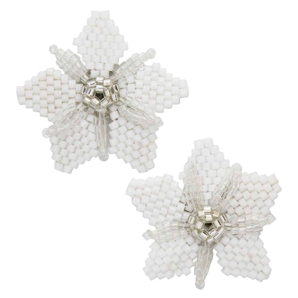Beaded Star Ear Studs - Osewaya