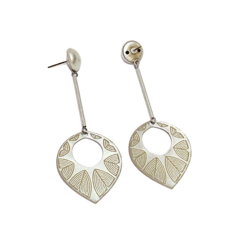 Dangle Leaf Earrings - Osewaya