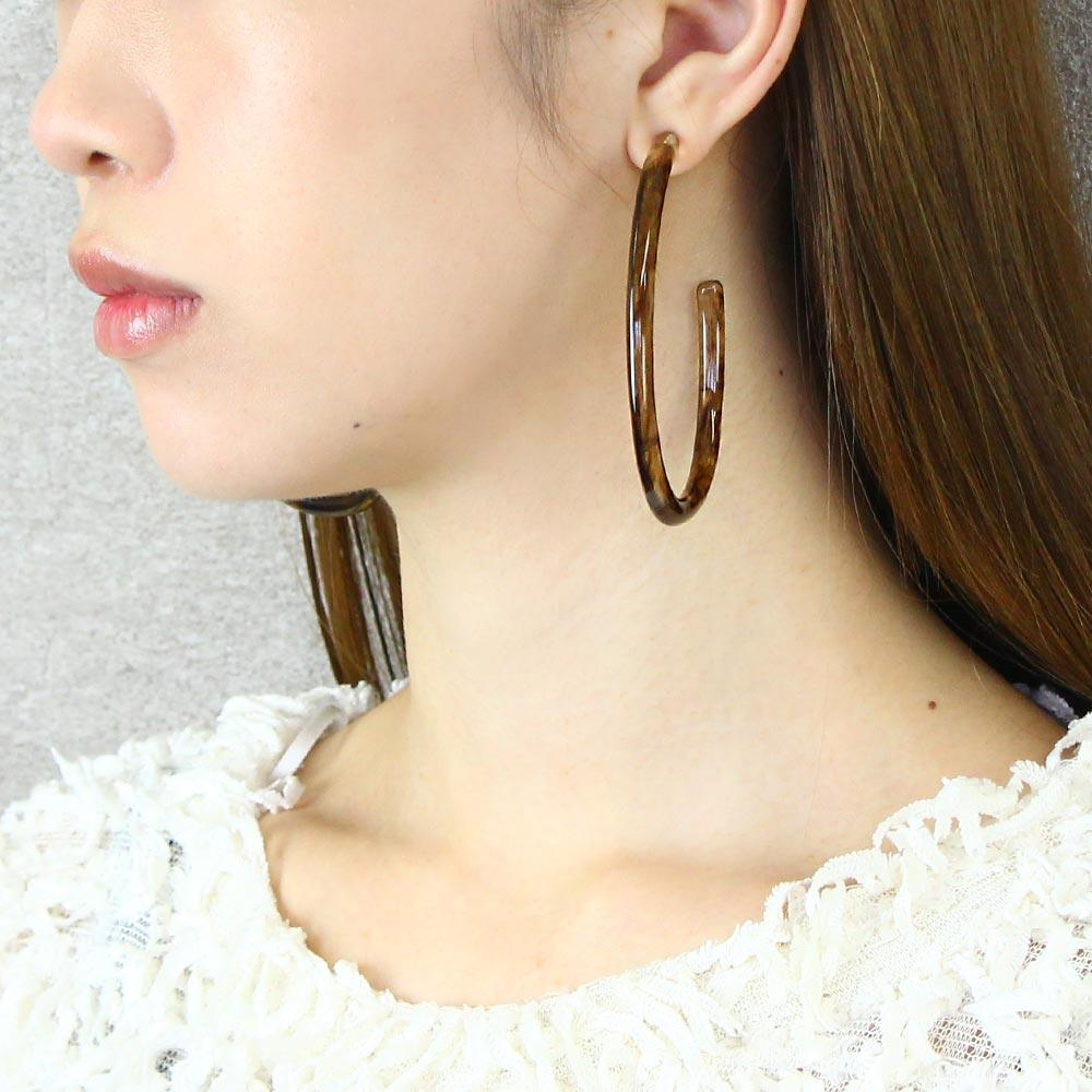 Statement Big Hoop Earrings
