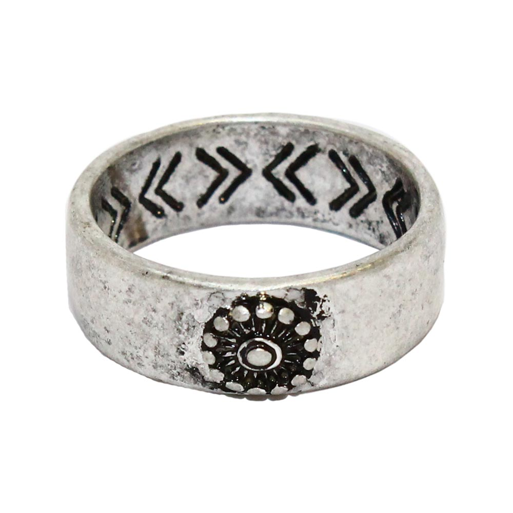 Nickel Free Ring Carved Inside - Osewaya
