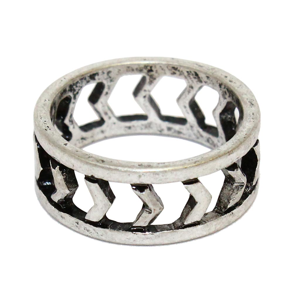 osewaya - Nickel Free Ring Openwork Arrow - LIMITED NUMBER - Ring
