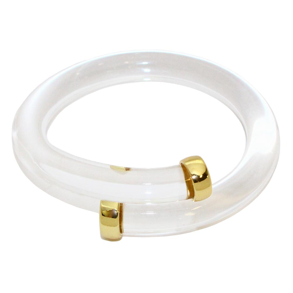 See Through Acrylic Bangle - Osewaya
