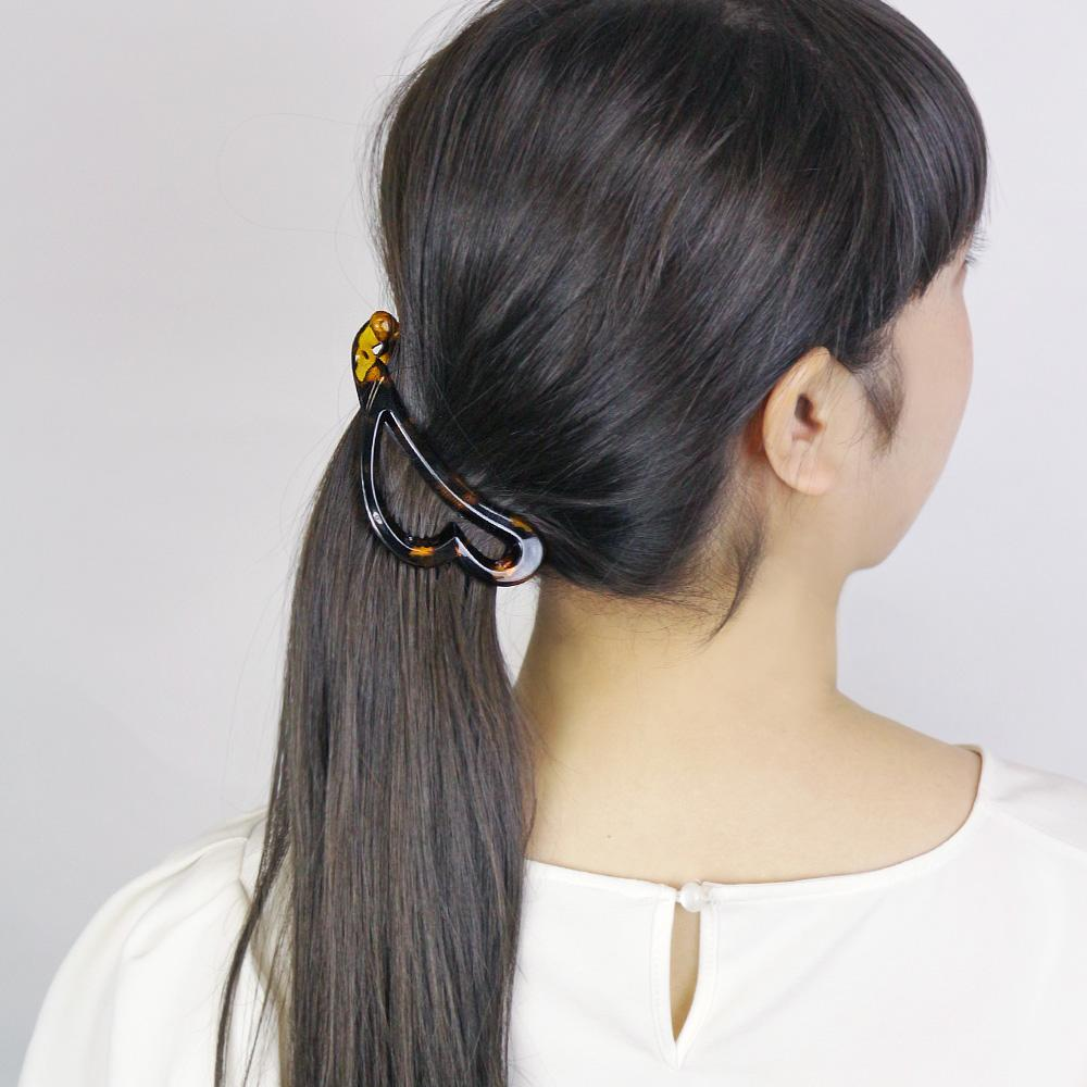Banana Hair Clip Heart - Osewaya