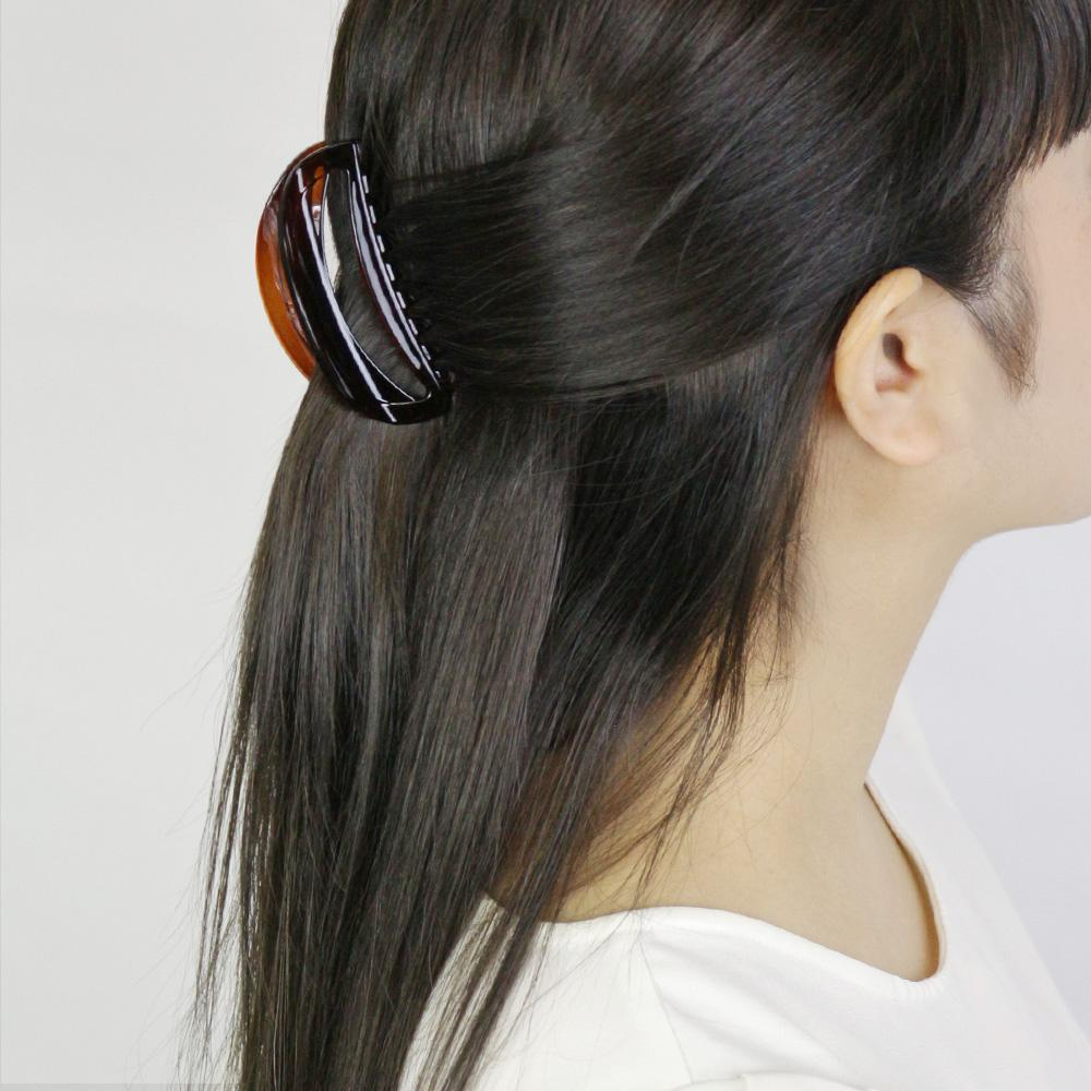 Oval Hollow Hair Jaw Clip - Osewaya