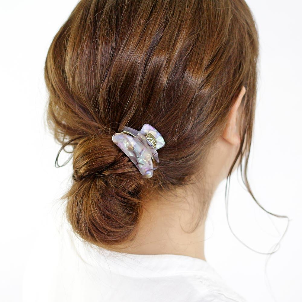 Marble Mini Hair Jaw Clip - Osewaya