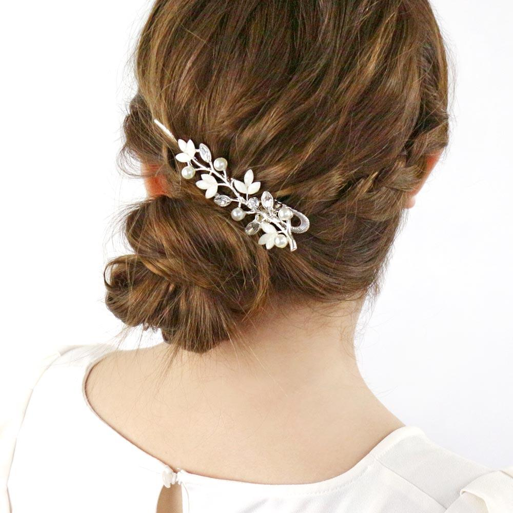 osewaya - Pearl Branch Hair Clip - OSEWAYA - Hair Accessory