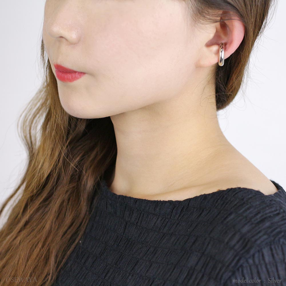 Chunky Metal Simple Ear Cuff
