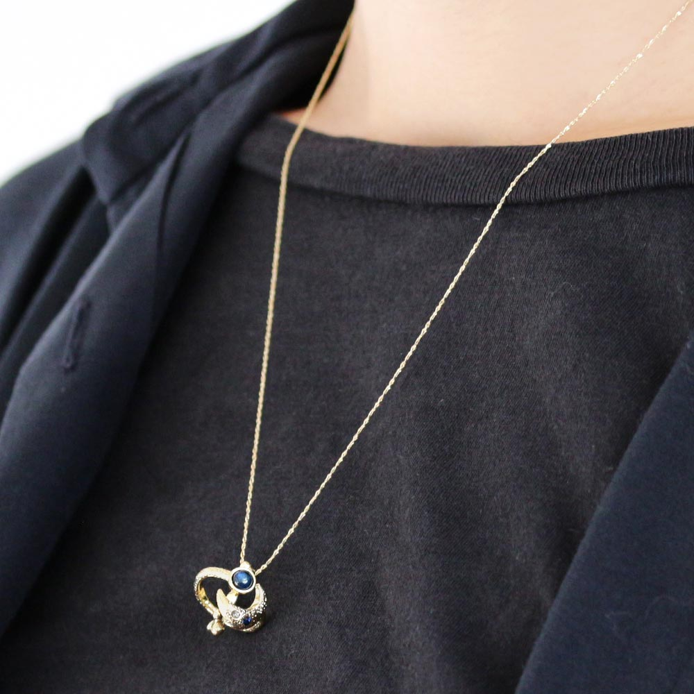 Moon Orbit Necklace - Osewaya