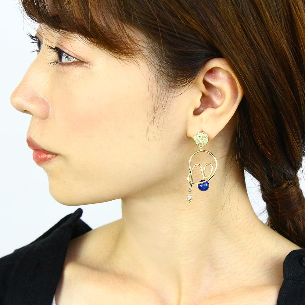 Star Motion Earrings - Osewaya