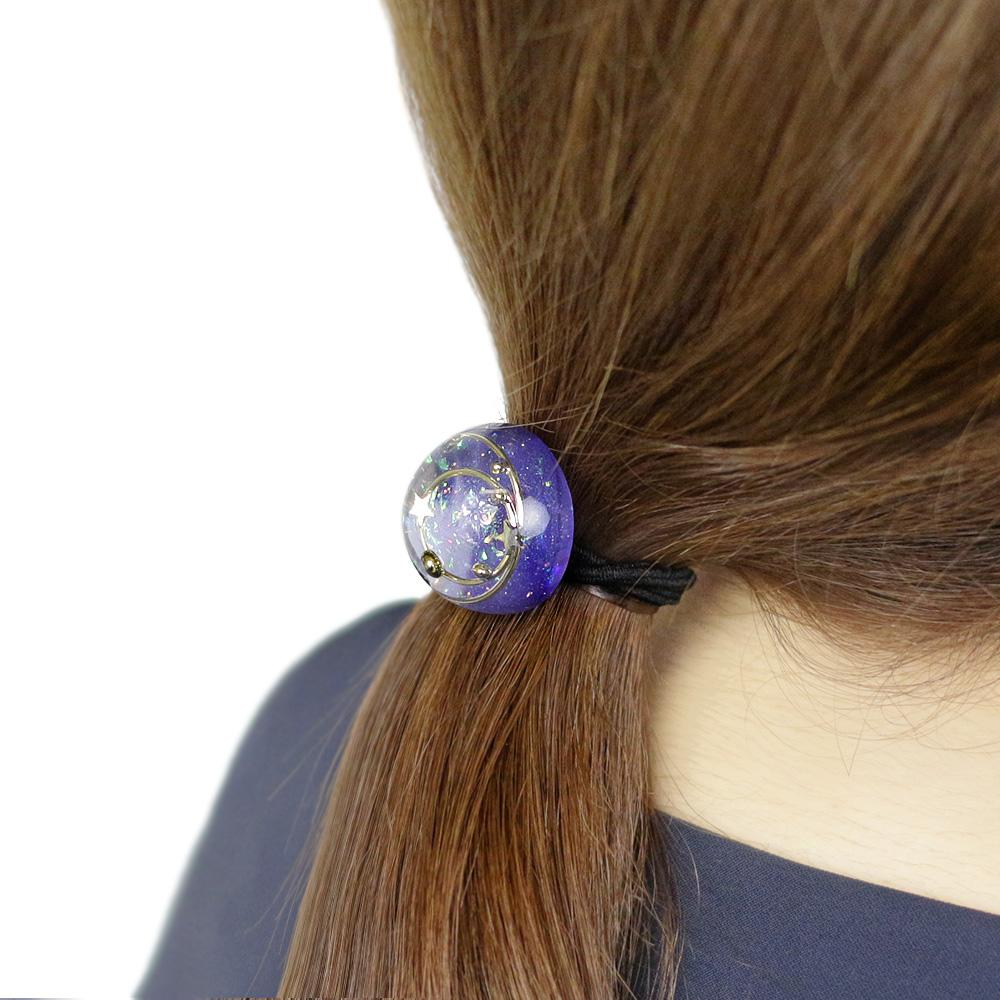 Romantic Celestial Ponytail Holder