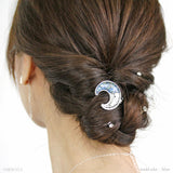 Shining Crescent Moon Hair Hook