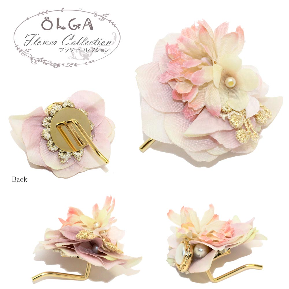 Pearl and Bouquet Hair Hook - Osewaya