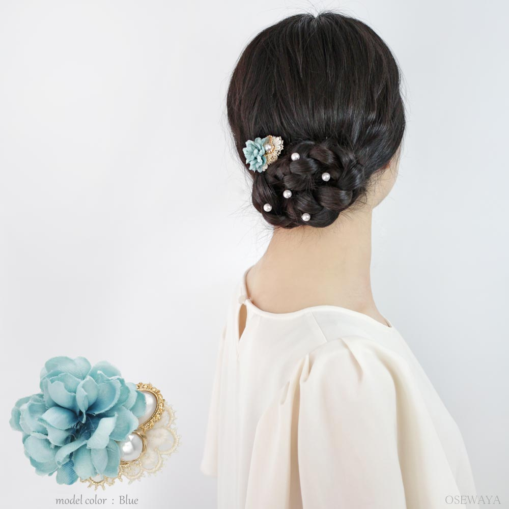Pastel Bouquet Hair Hook - Osewaya
