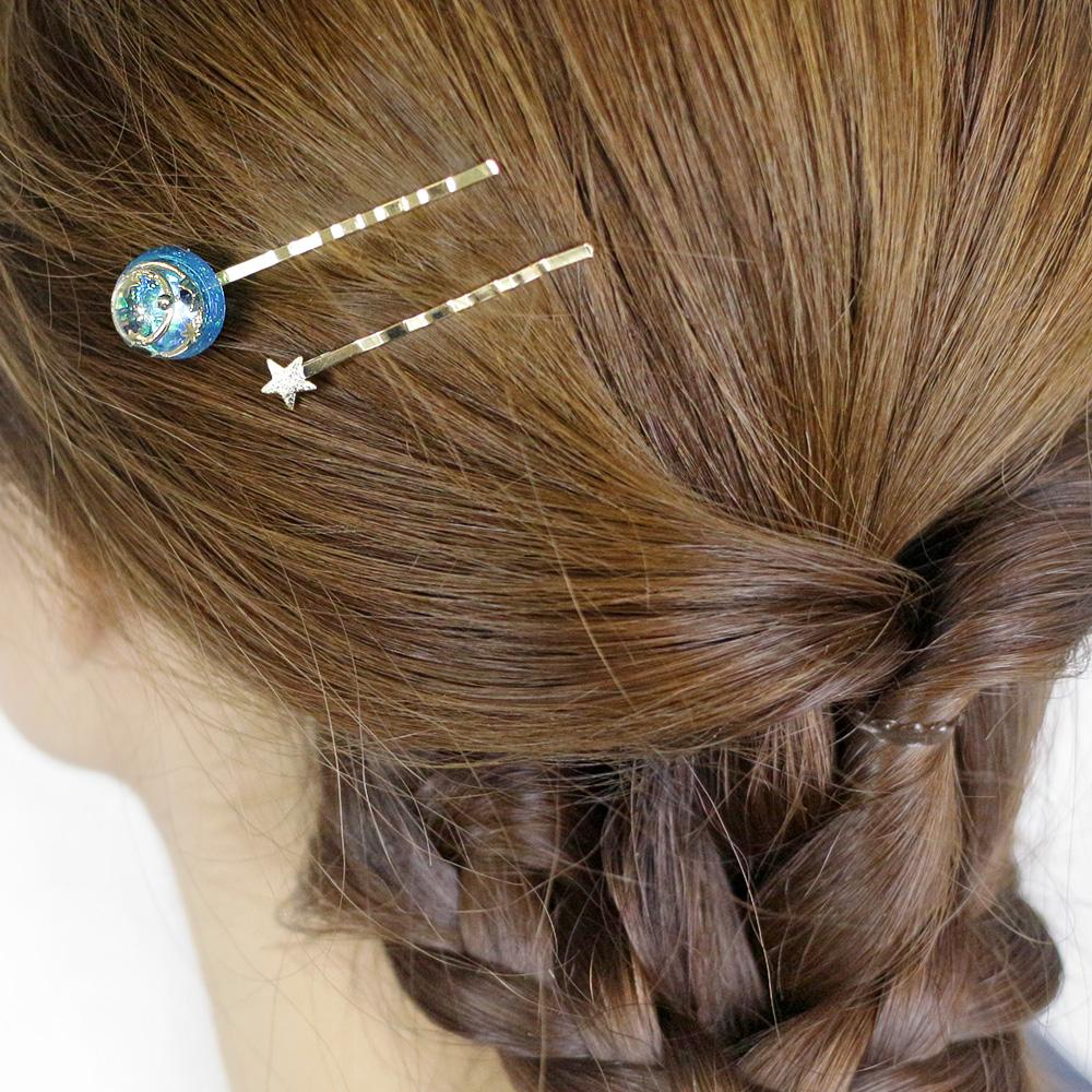 Romantic Celestial Hair Slide - Osewaya