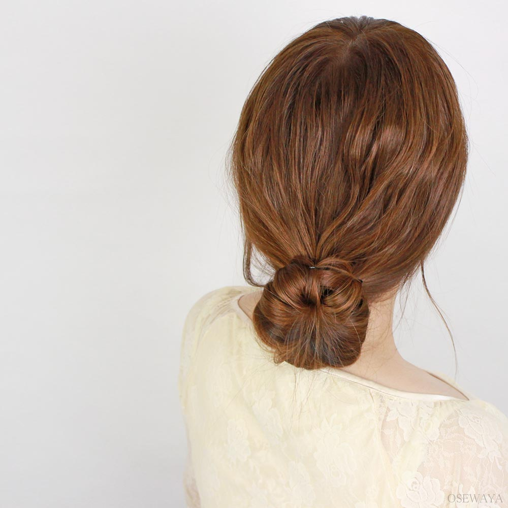 Double Hook Hair Bun Maker